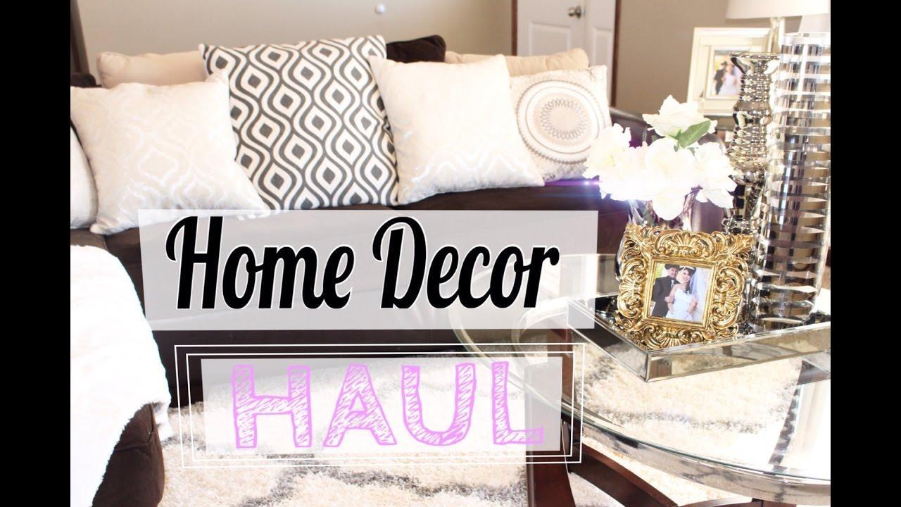 Home Decor Haul Decoraciones Para Mi Nueva Casa Hobby