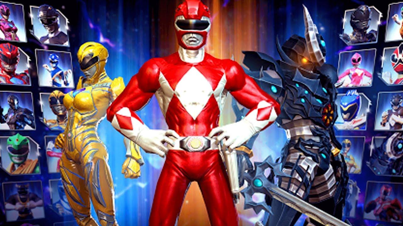 O Novo Jogo Dos Power Rangers Para Celular Gratis Youtube