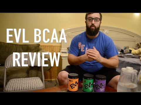 (EVL) Evolution Nutrition BCAA ENERGY Flavor and Ingredient Review