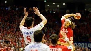 EHF EURO 2014 | DENMARK vs CROATIA - Final Round (Semifinal)