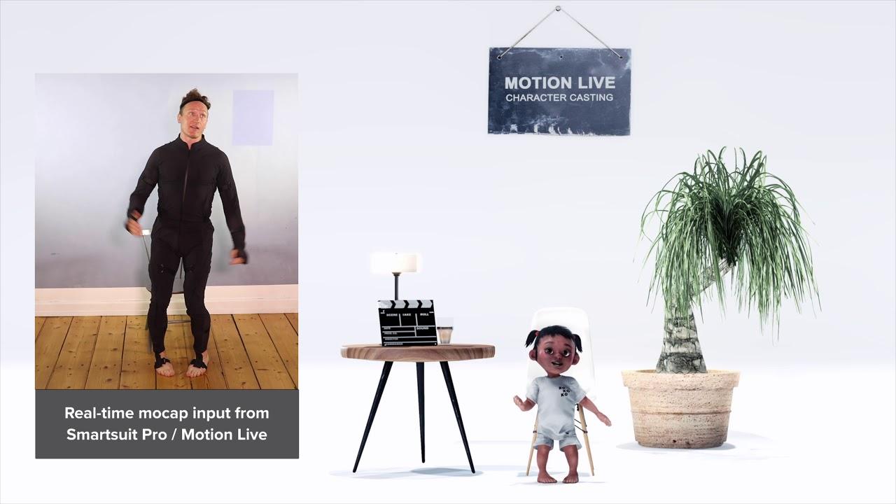 Smartsuit Pro // iClone Motion LIVE