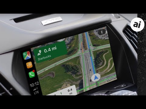 Hands On: Google Maps In Apple CarPlay!