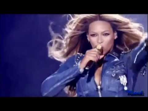Beyonce And Jay Z I Just Wanna Love U  Run the World Paris Stade de France On The Run Tour【HD】
