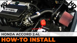 2008-2012 Honda Accord 2.4L Air Intake Installation