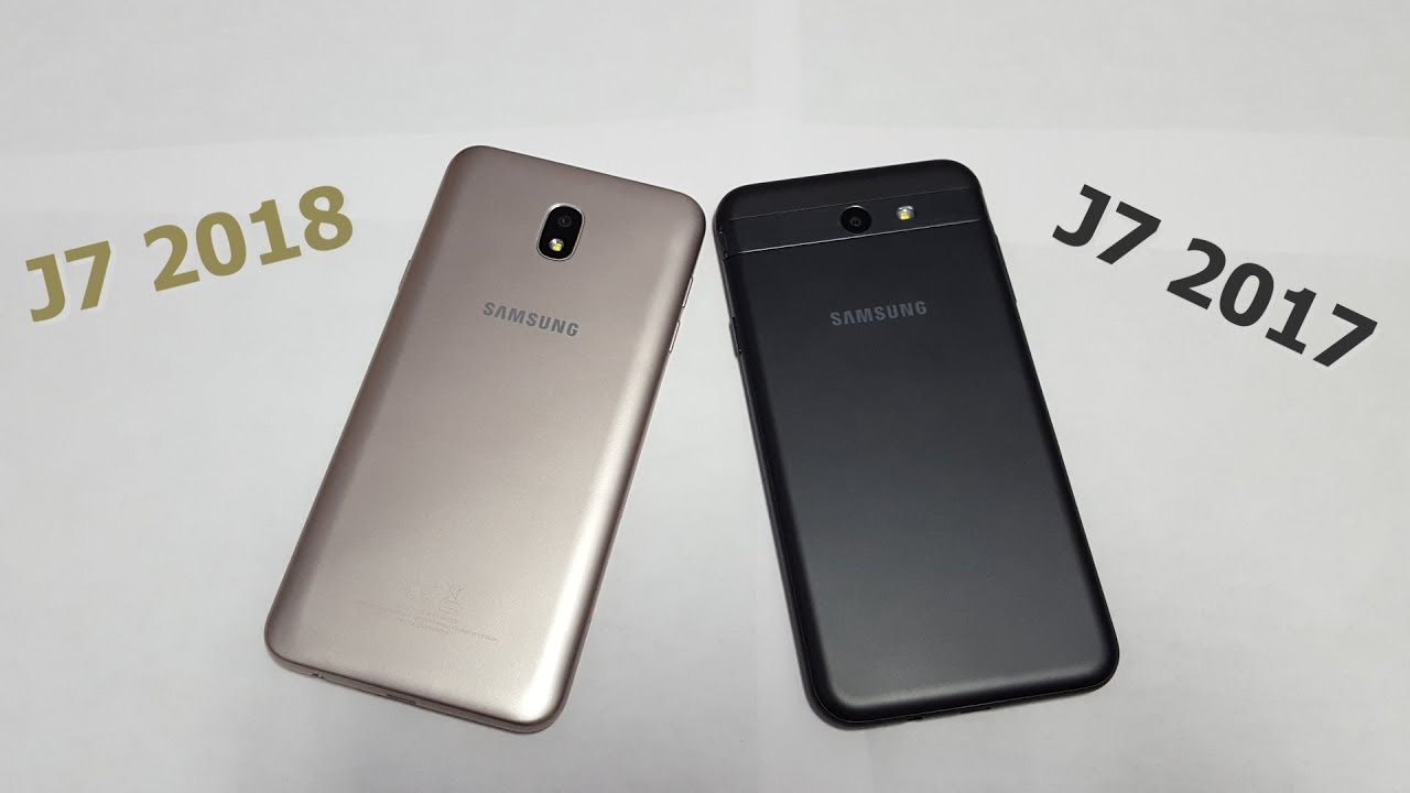 508c171a0b8 Best Samsung Phone Under  200  Galaxy J7 2018 VS Galaxy J7 2017 ...