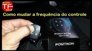 Como mudar a codificação do controle flex code dos alarmes Pósitron