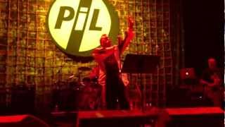 Public Image Limited PIL Club Nokia Death Disco 10/28/12 Los Angeles