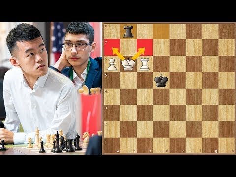 Compliments from Magnus || Ding vs Firouzja || FIDE World Cup (2019)
