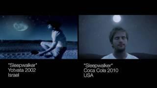 sleepwalker Coca Cola super bowl 2010 ad - Super ripoff?