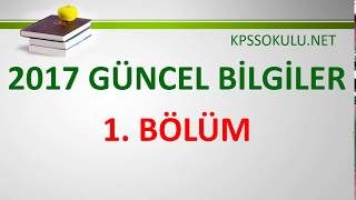 KPSS Güncel Bilgiler-1