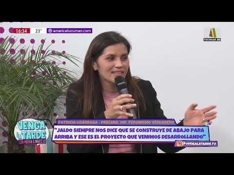 PATRICIA LIZÁRRAGA EN VENGA LA TARDE
