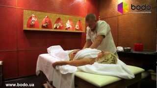 видео SPA массаж, антицеллюлитный массаж, лечебный массаж, медовый массаж, СПА массаж