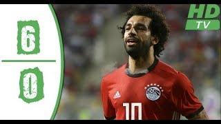 جميع أهداف مباراة مصر والنيجر 6-0 في إستاد برج العرب 8 سبتمبر 2018 (HD)