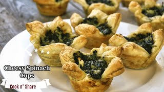 Spectacular Spinach Cups - Easy and Delicious