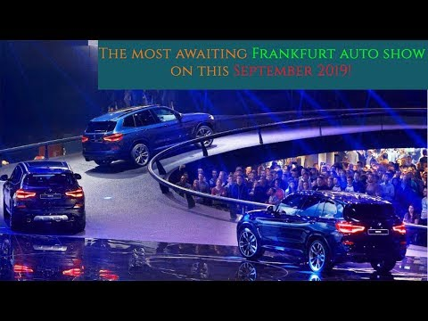 10 Electric Cars are unveiling in the Frankfurt auto show 2019!