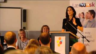 Crown Princess Mary opens Refugee Council