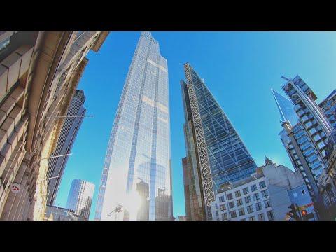 4K London Walk - City of London - Explore ICONIC Buildings