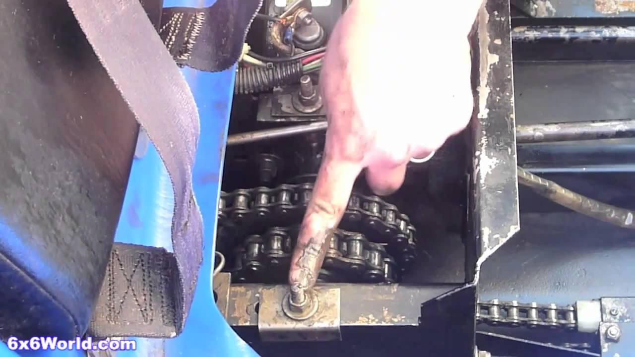 Max Ii 6x6 Chain Adjustment