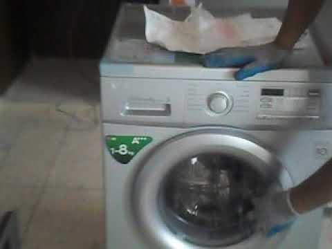 installation de la machine laver installation of washing machine youtube. Black Bedroom Furniture Sets. Home Design Ideas