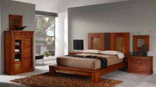 4-dormitorios de madera de pino.wmv