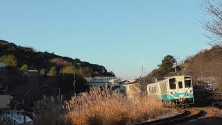 【鉄道走行動画】JR土讃線 枝川→朝倉 普通 高知行 718D 2輌