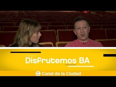 """Nicolas Scarpino de """"La gran farándula"""", César Delgado de""""Mecache Rock"""" en Disfrutemos BA"""