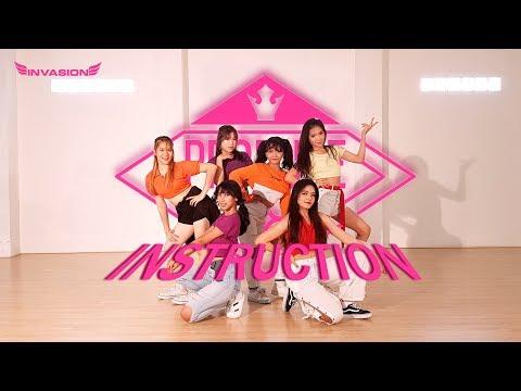 PRODUCE48 (프로듀스 48) - JAX JONES INSTRUCTION COVER BY INVASION GIRLS