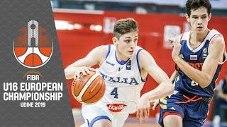 Italy v Russia - Full Game - FIBA U16 European Championship 2019