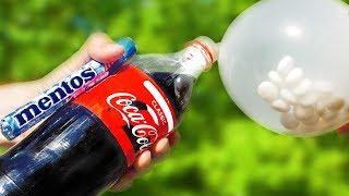 Mentos VS Coca Cola