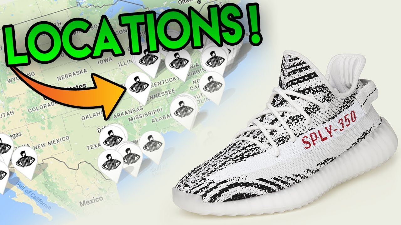 OFFICIAL  ADIDAS YEEZY BOOST 350 V2 ZEBRA S RELEASE LOCATIONS FOR RESTOCK!!!  ( LARGER QUANTITY ) db81f1a35