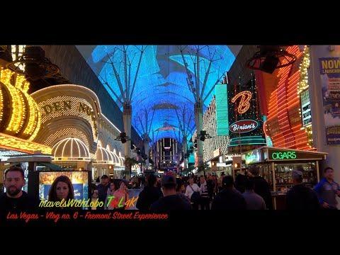 LAS VEGAS - FREEMONT STREET - VIVA VISION LIGHT SHOW