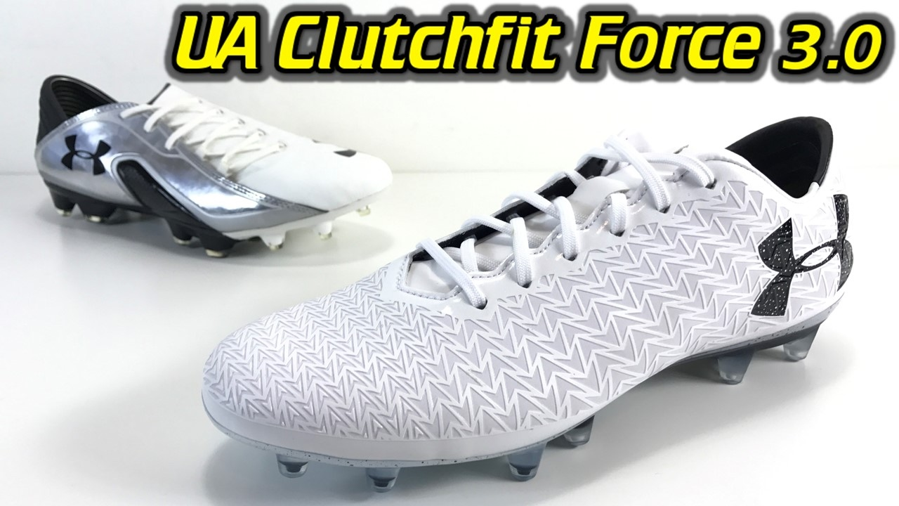 Under Armour Clutchfit Force 3.0 (White/Black) - One Take Review + ...