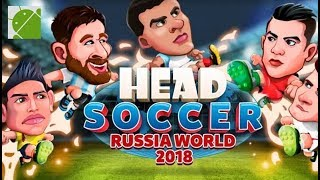Head Soccer Russia Cup 2018 - Android Gameplay FHD