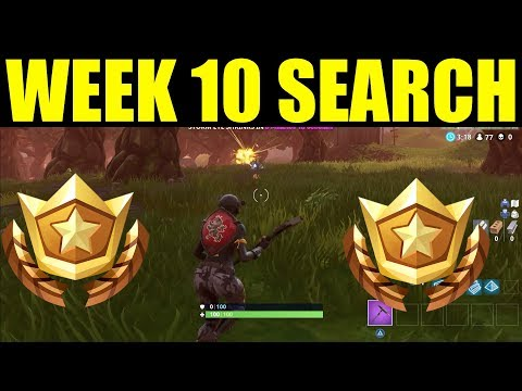 """""""Search Between A Stone Circle Wooden Bridge and Red RV"""" Week 10 challenge location in Fortnite"""