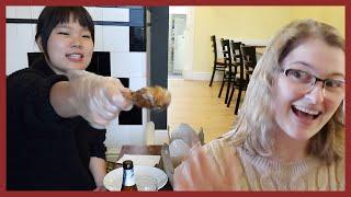 한국 치킨 처음 먹어본 영국 친구의 반응은..? // …