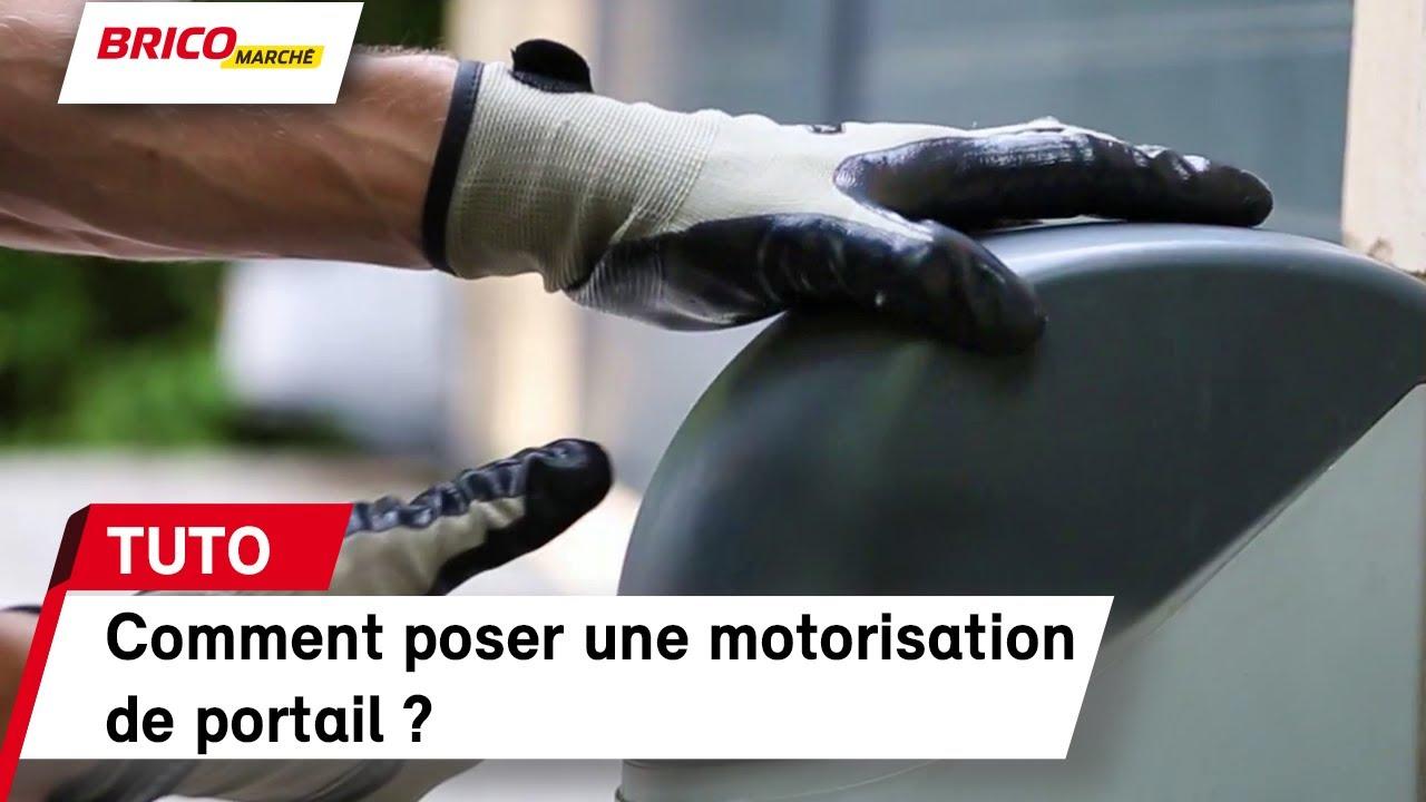 Comment Mettre Une Barre De Seuil comment installer une motorisation de portail ? - fiche