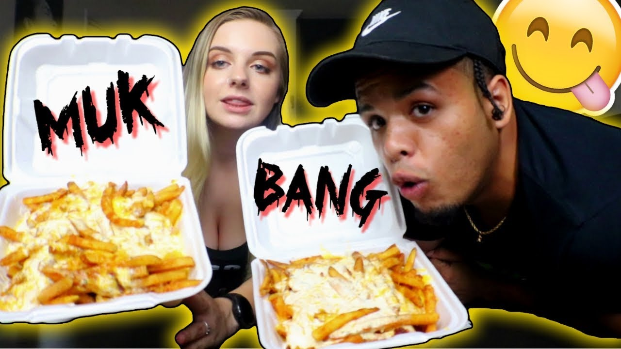 Mukbang With My Girlfriend Bacon Ranch Cheese Fries