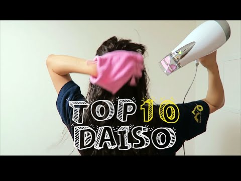 TOP 10 DAISO ITEMS YOU MUST GET - HAUL, TRAVEL, LIFE HACK