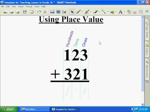 Group 3 Teaching 3 Digit Addition - YouTube