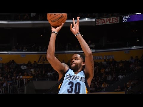 Troy Daniels NBA Season Highlights with the Memphis Grizzlies