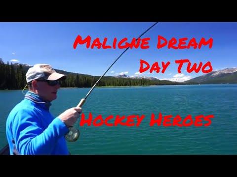 Maligne Lake Day Two-Hockey Heroes