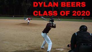 Dylan Beers Pitching Highlights Crusaders Baseball Club vs Admirals and NAS Premier