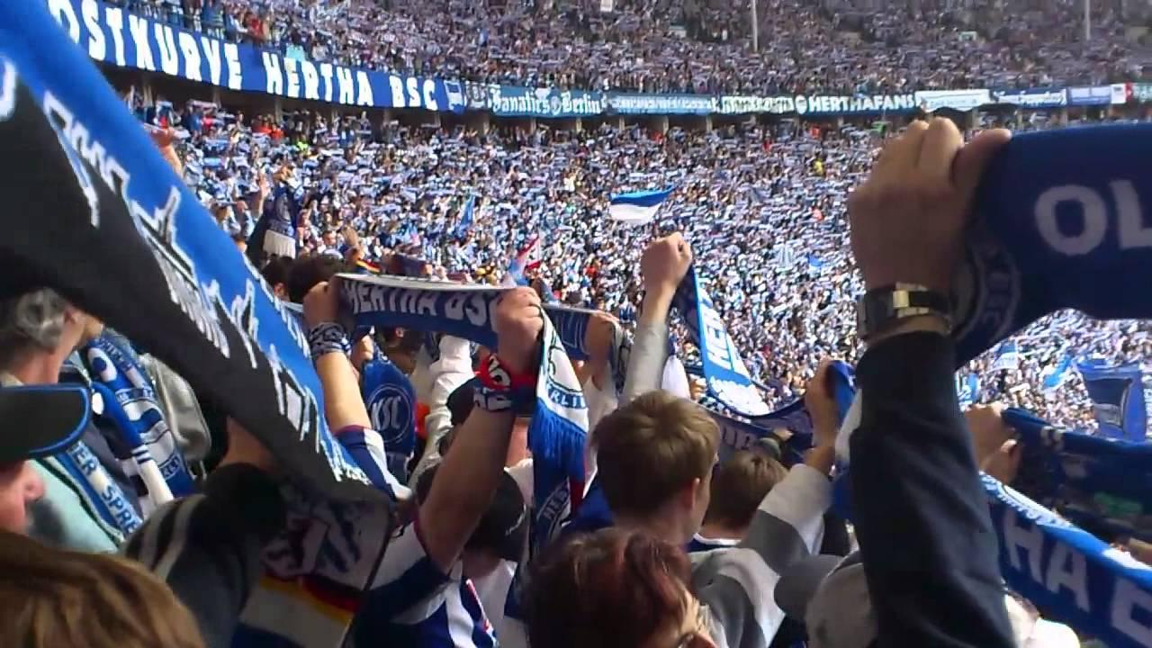 Hertha Bsc Ostkurve Nur Nach Hause Youtube