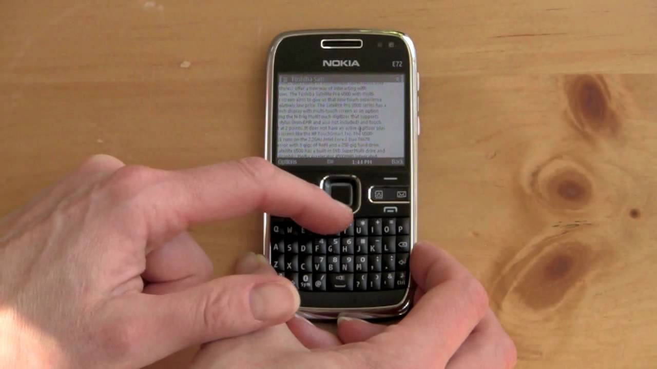 Nokia E72 Review - Phone Reviews by Mobile Tech Review