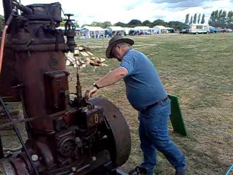 Dutch Industrie engine start