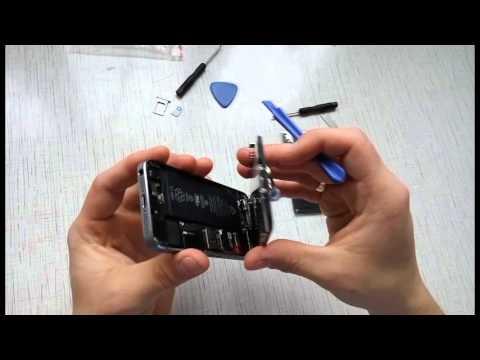 Замена аккумулятора iphone 5s + совет где купить на Aliexpress
