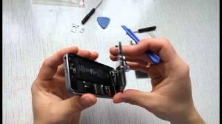 Замена аккумулятора iphone 5s + совет где купить на Aliexpress(Ссылка на товар на Aliexpress: http://ali.pub/bivnx Покупаете на Aliexpress, возвращайте гарантированно 8,5% от каждой покупки..., 2016-04-20T15:26:21.000Z)