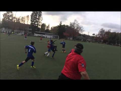 Lighthouse Church School vs Windward middle school soccer 2015 Santa Monica