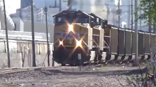 UP Monster Wisconsin Electric Power coal train 2x3x1 Fifth St  Clinton, IA May 4, 2019
