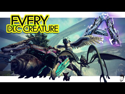 EVERY DLC Creature on ARK Genesis Part 2 & Where to Find Them